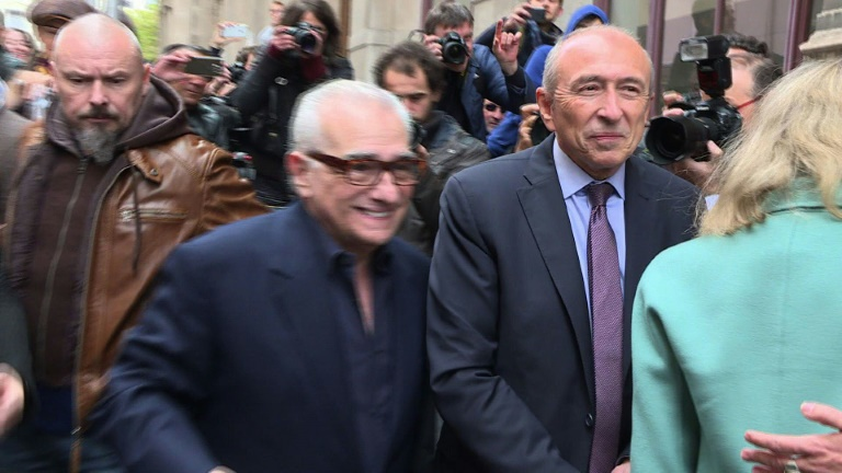 Martin Scorsese honored at Lumiere film festival in Lyon