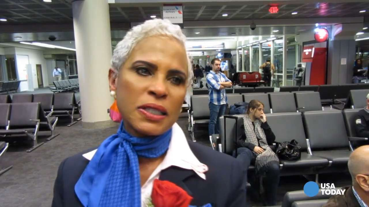As the final flight for US Airways pulled into Philadelphia, it was a time of reflection for many in the company, including one tearful flight attendant.