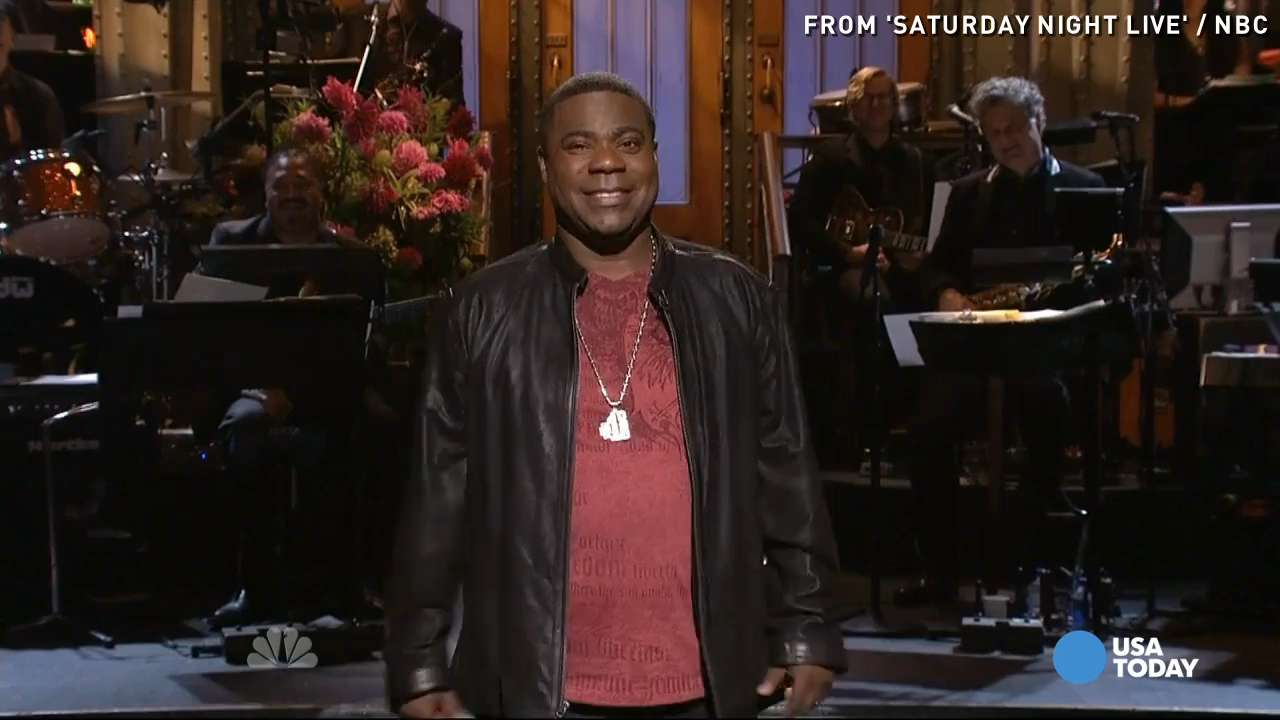 Tracy Morgan rocks return to 'SNL'