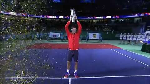 Novak Djokovic wins the Shanghai Rolex Masters, while Agnieszka Radwanska wins her 16th WTA title.