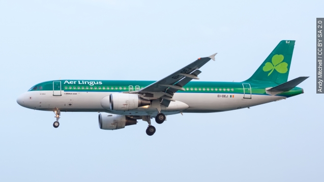 A Dublin-bound flight made an emergency landing after a man bit another passenger before losing consciousness. The man was later pronounced dead. Video provided by Newsy