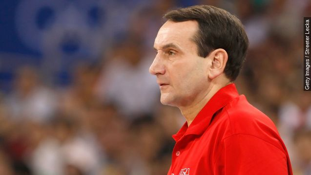 """Mike Krzyzewski told ESPN that 2016 is his last year coaching the U.S. men's Olympic basketball team. """"It definitely is,"""" he said. Video provided by Newsy"""