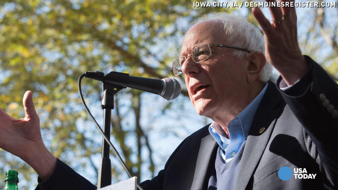 Bernie Sanders: 'I have an ample supply of underwear'