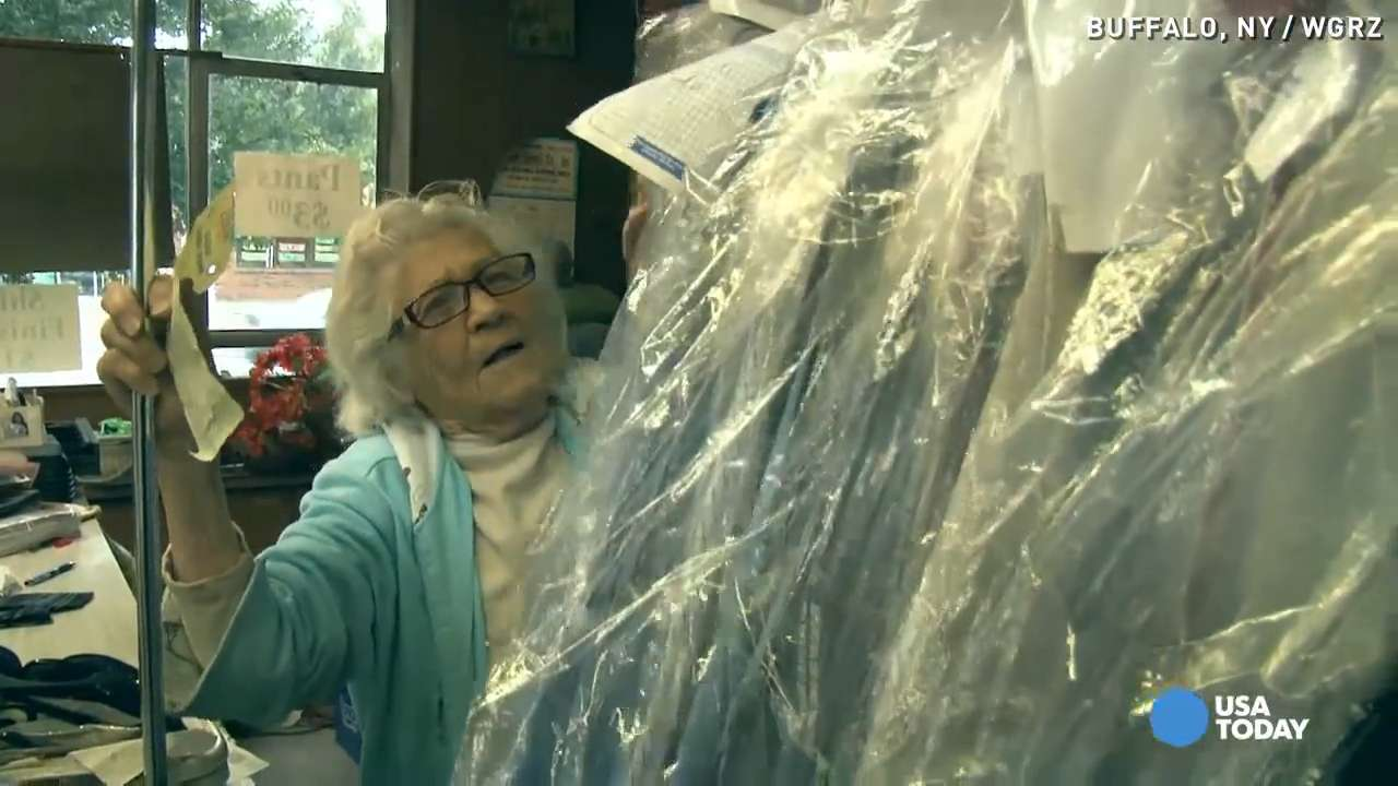 Unstoppable 100-year-old works 6 days a week