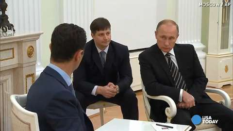 Syrian President Assad meets with Putin on secret visit