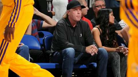 Jim Buss, co-owner and executive vice president of