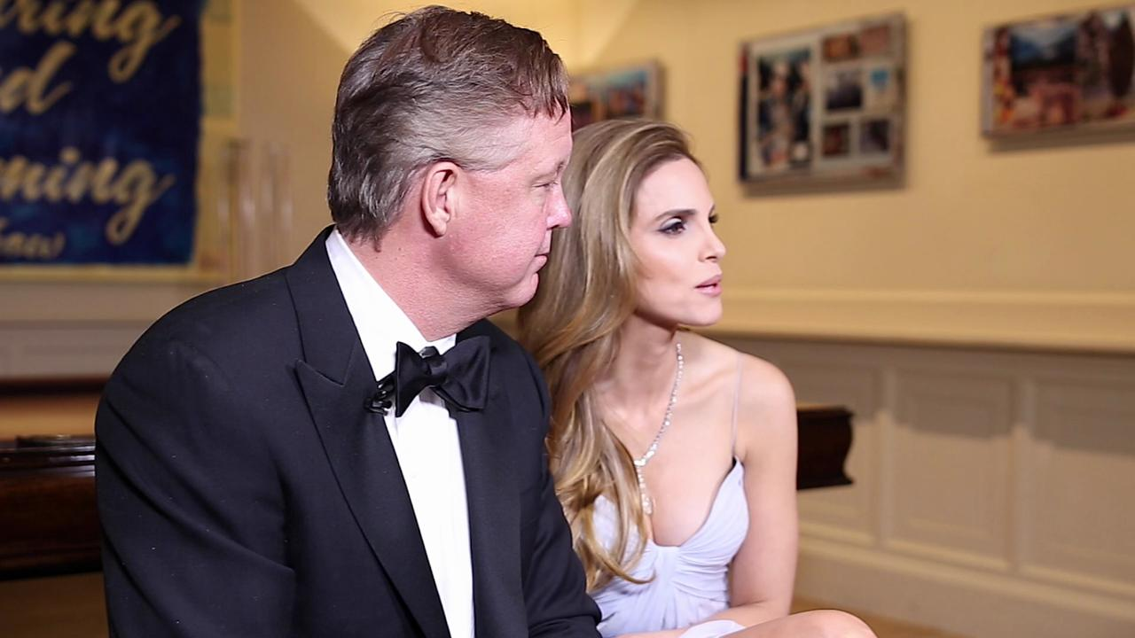 NASCAR CEO and chairman Brian France and his wife Amy share the feeling of giving back to cancer research through their various foundations.
