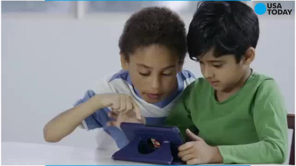 Kids get the pediatric OK for smartphones and tablets