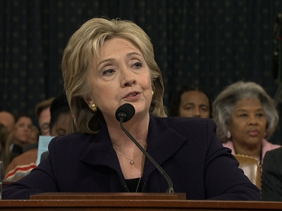 Clinton: Most Of My Work Not Done On Email