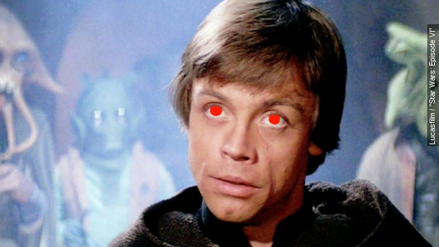 Is evil Luke Skywalker definitely happening?