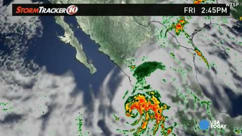 Strongest hurricane in history bears down on Mexico