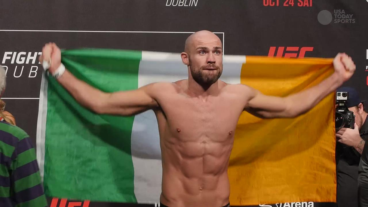 UFC Fight Night 76: Pendred, Breese weigh-in Highlight