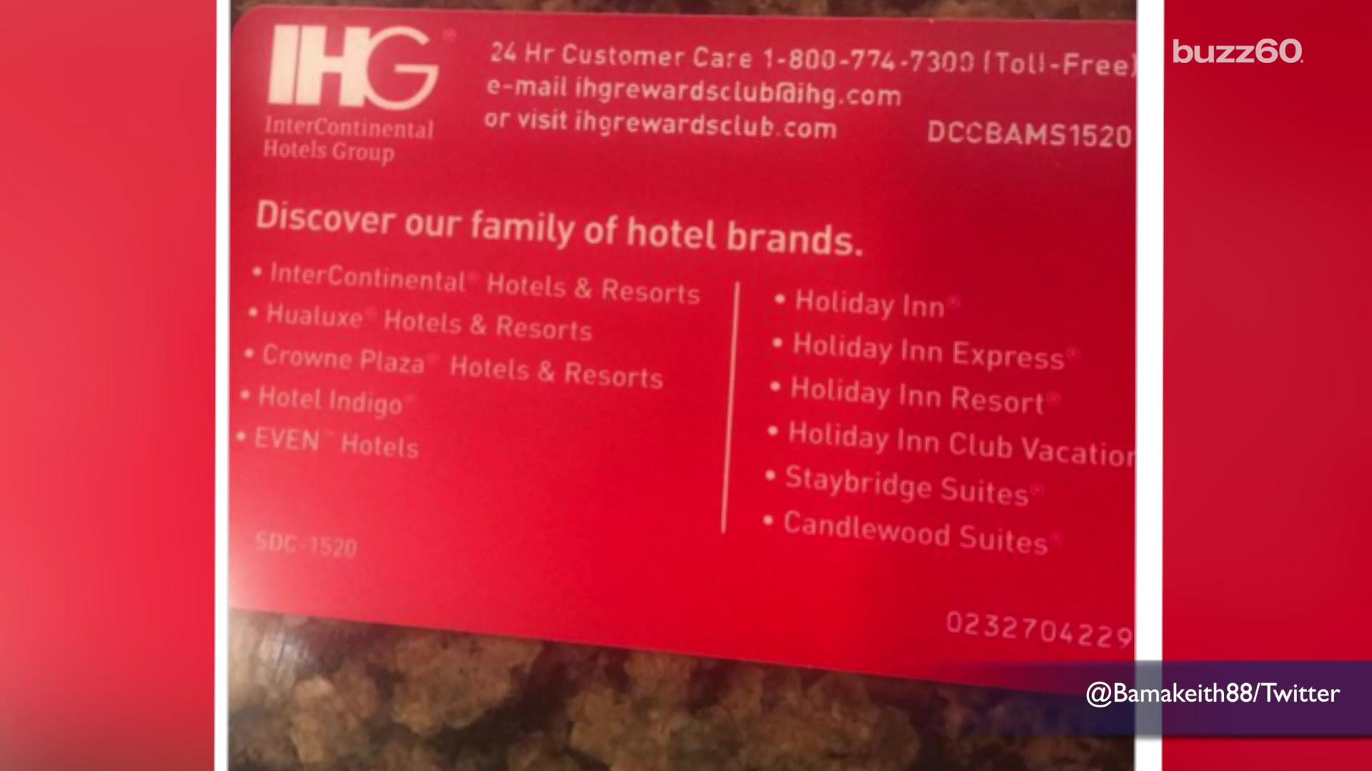 Members of the Spire Elite loyalty program were in for a surprise when they called a customer service hotline printed on their card only to be greeted over the phone with an adult chat line instead. Leigh Scheps (@LeighTVReporter) has the story.