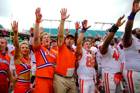Week 8 Amway Coaches Poll: Clemson very impressive