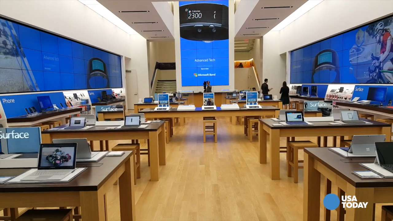 Take a tour of Microsoft's new flagship Fifth Avenue store