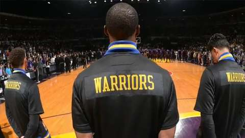 NBA Fast Break: Warriors play ball at notorious prison