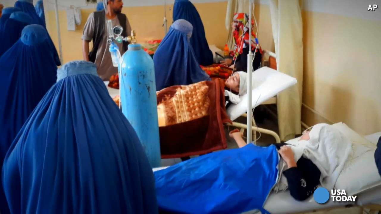 At least a dozen schoolgirls were among those killed after a masive earthquake in Northern Afghanistan. They got caught in a stampede while trying to get out of their building.