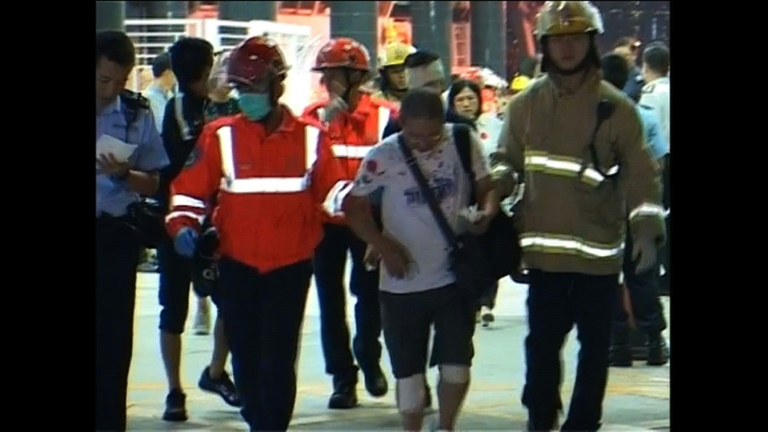 Scores injured in Hong Kong ferry accident