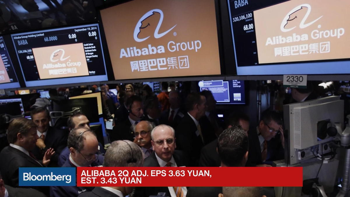 Alibaba tops second-quarter revenue on advertising growth