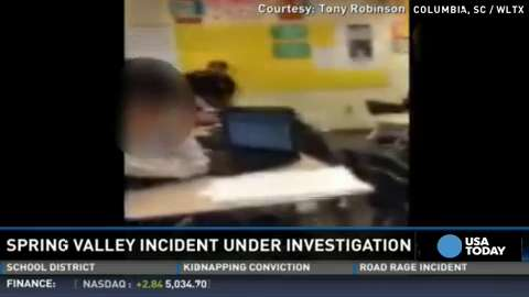 A school resource officer has been placed on administrative leave following an incident in Columbia, S.C., that was captured on video and circulated on social media sites.