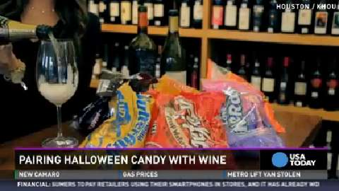 An app that pairs candy and wine? We'll drink to that