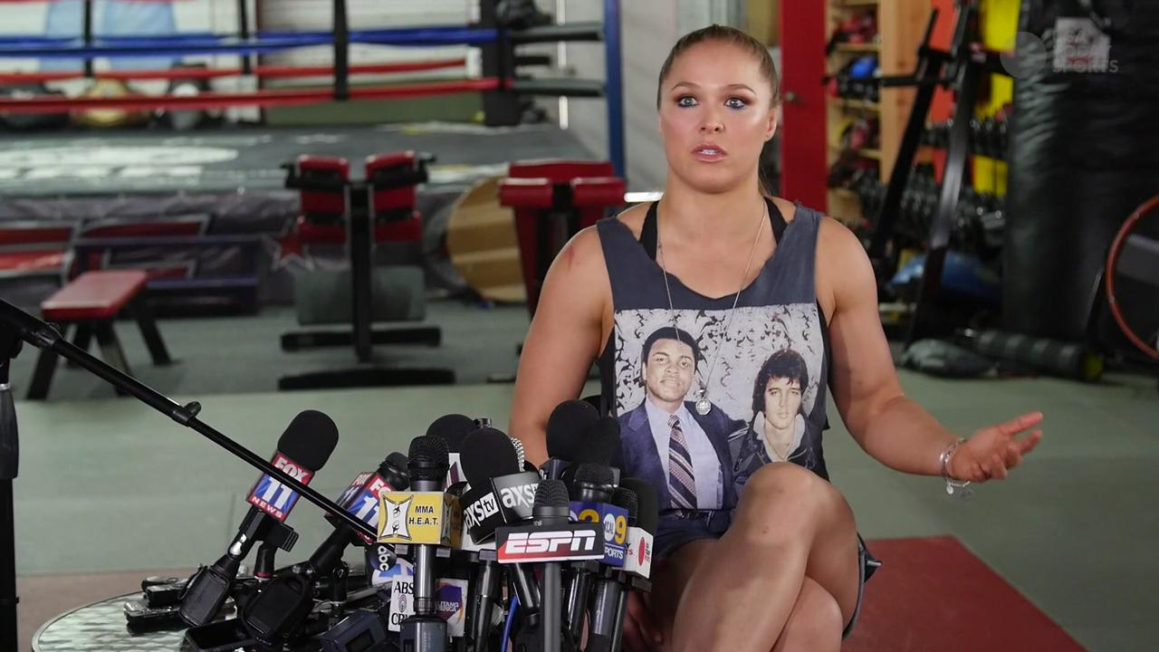 Ronda Rousey says 5-year marijuana suspension is like life in prison for parking tickets