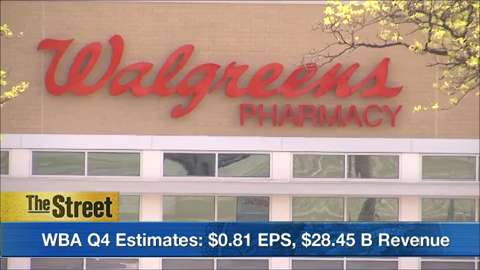 What to watch Wednesday: Walgreens boots Alliance takes the spotlight