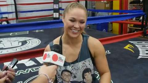 Ronda Rousey and her history of odd admirers