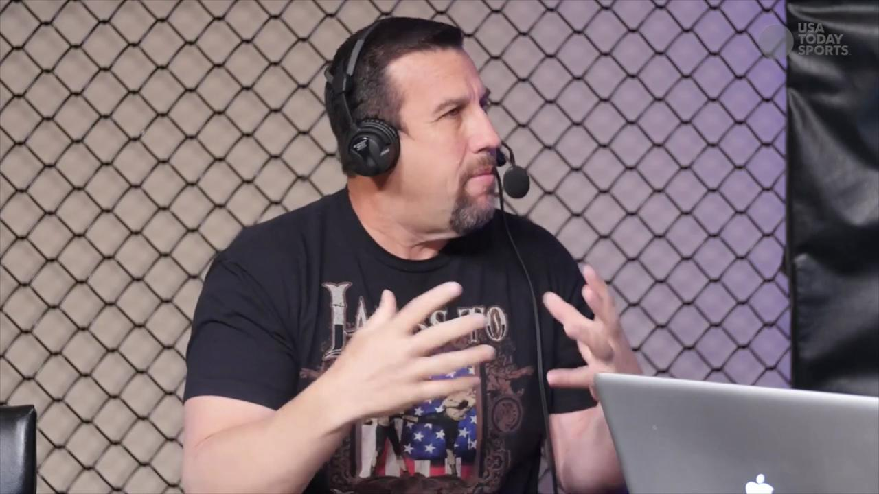 "Respected MMA referee ""Big"" John McCarthy's graphic description of how he views fights differently"