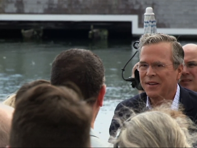 Bush Seeks to Steady Campaign in New Hampshire