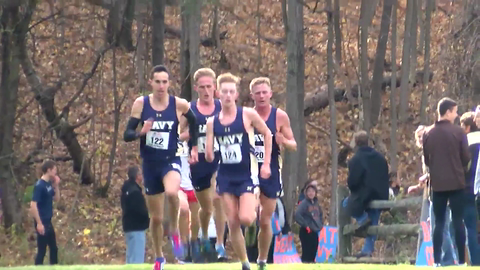 Navy wins third straight Patriot League men's cross country title