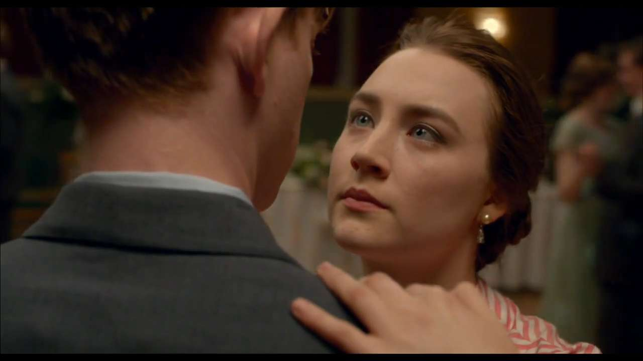 Saoirse Ronan takes on a the role of Eilis, an Irish