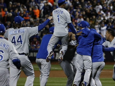 Royals Win World Series, Top Mets 7-2