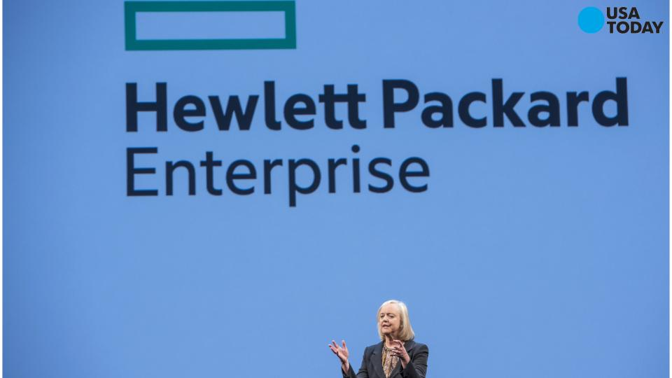 Meg Whitman to step down as HP Enterprise CEO