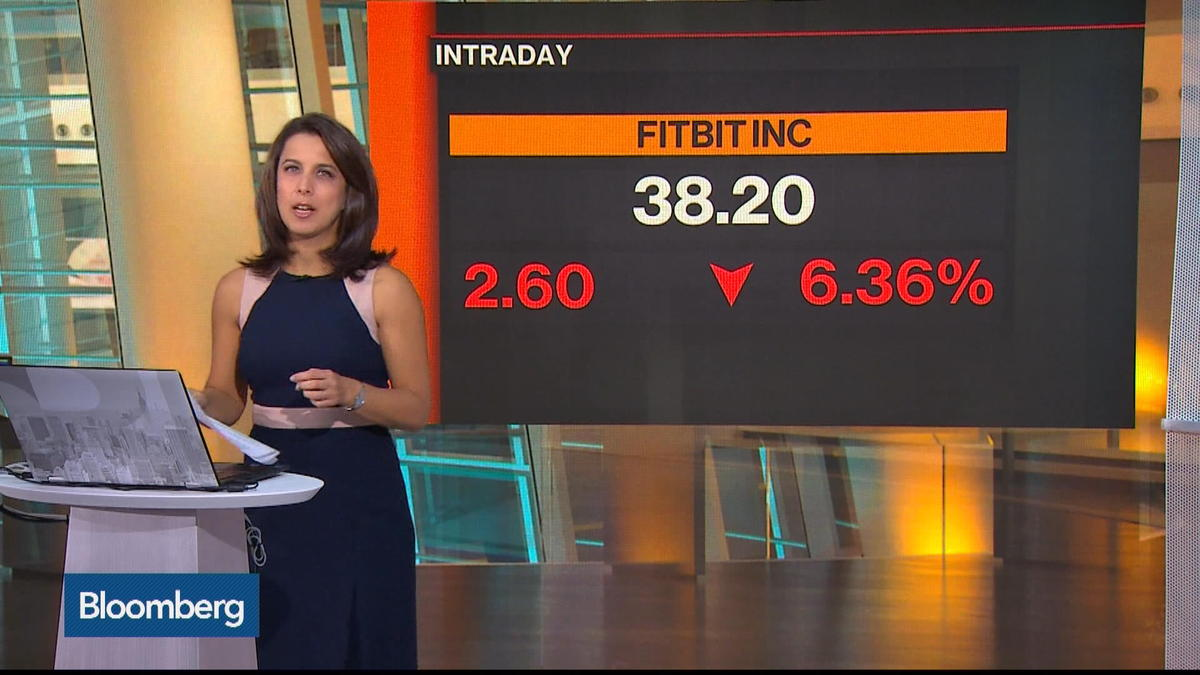 Fitbit Drops on Further Stock Offering
