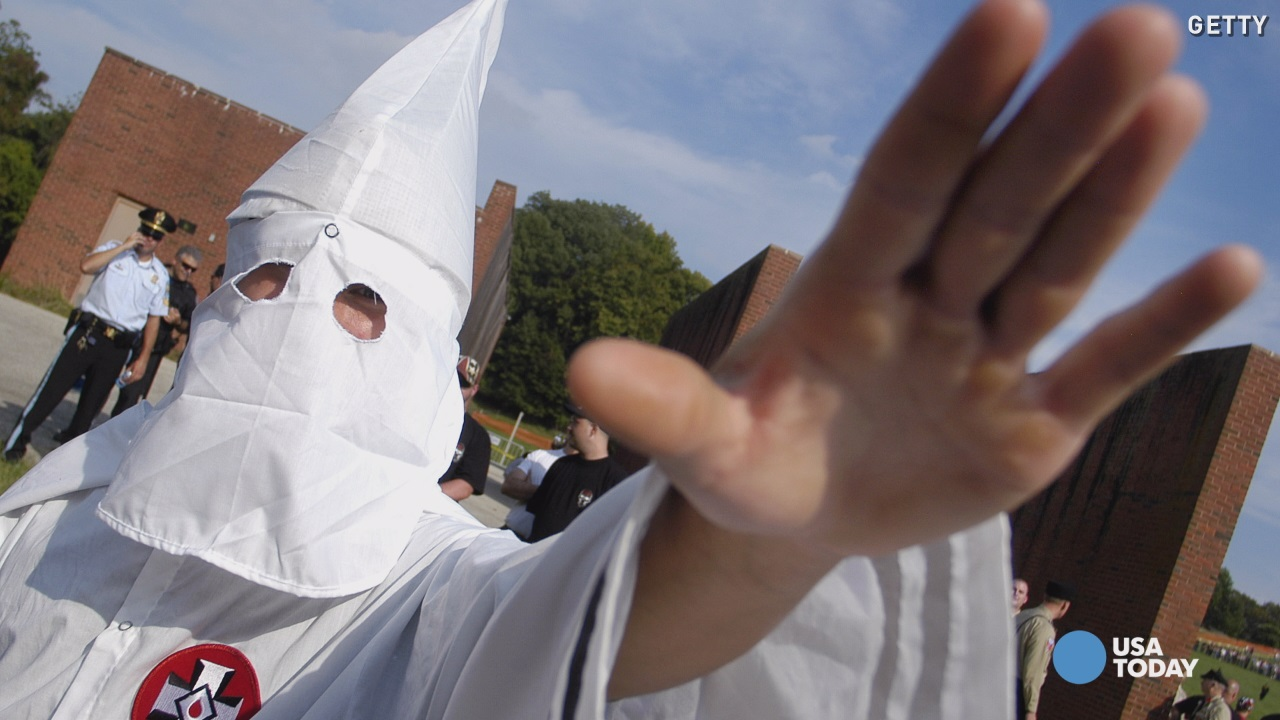 A group claiming ties to Anonymous has identified several politicians as members of the Ku Klux Klan, but those politicians and another group claiming ties to Anonymous say the so-called outings are wrong.