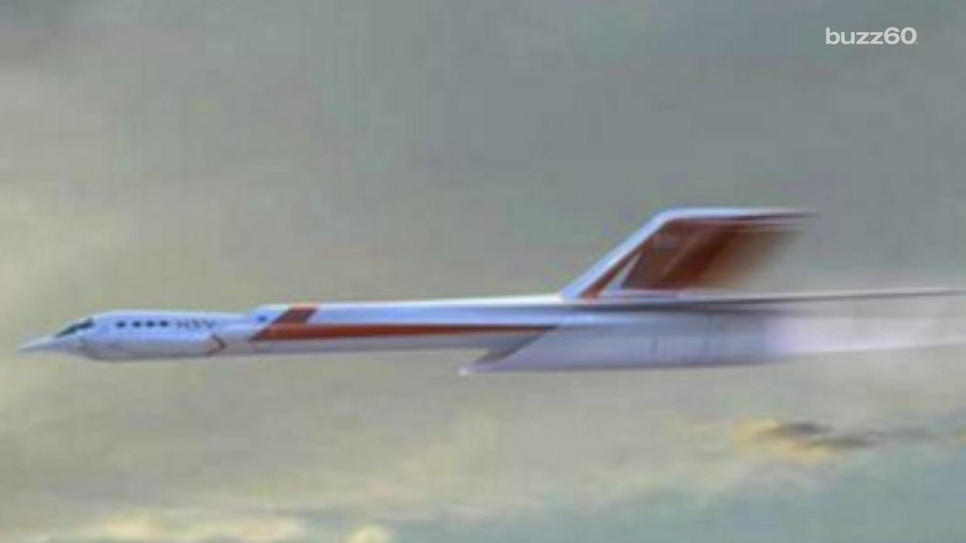 'Screamer' jet would travel from NYC to London in 30 minutes