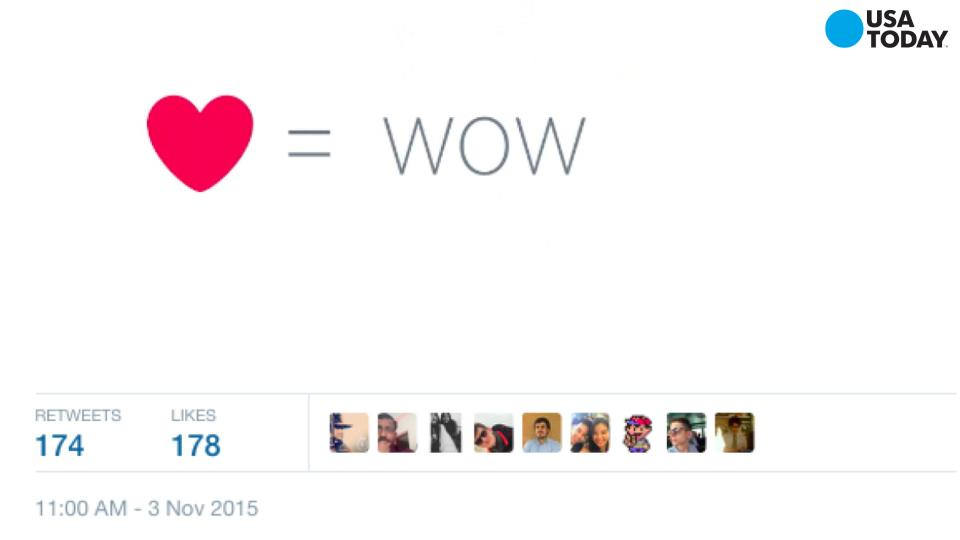 Twitter Makes Heart Icon The New Like Button