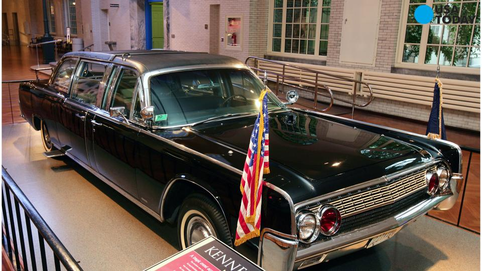 JFK license plates from fatal limo ride will be auctioned off