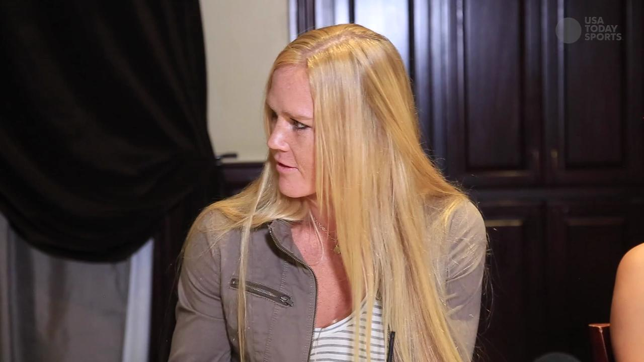 Holly Holm says she's inspired by Jon Jones' approach to training