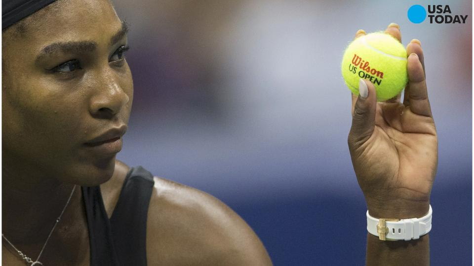 Serena Williams is a superhero who caught the bad guy