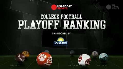 College Football Playoff Ranking: Week 1