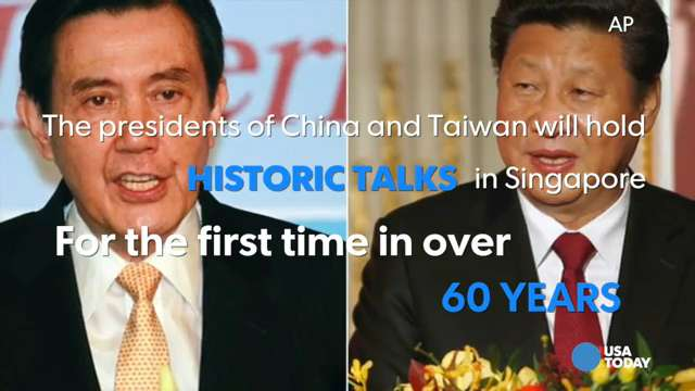 China and Taiwan to hold historic talks