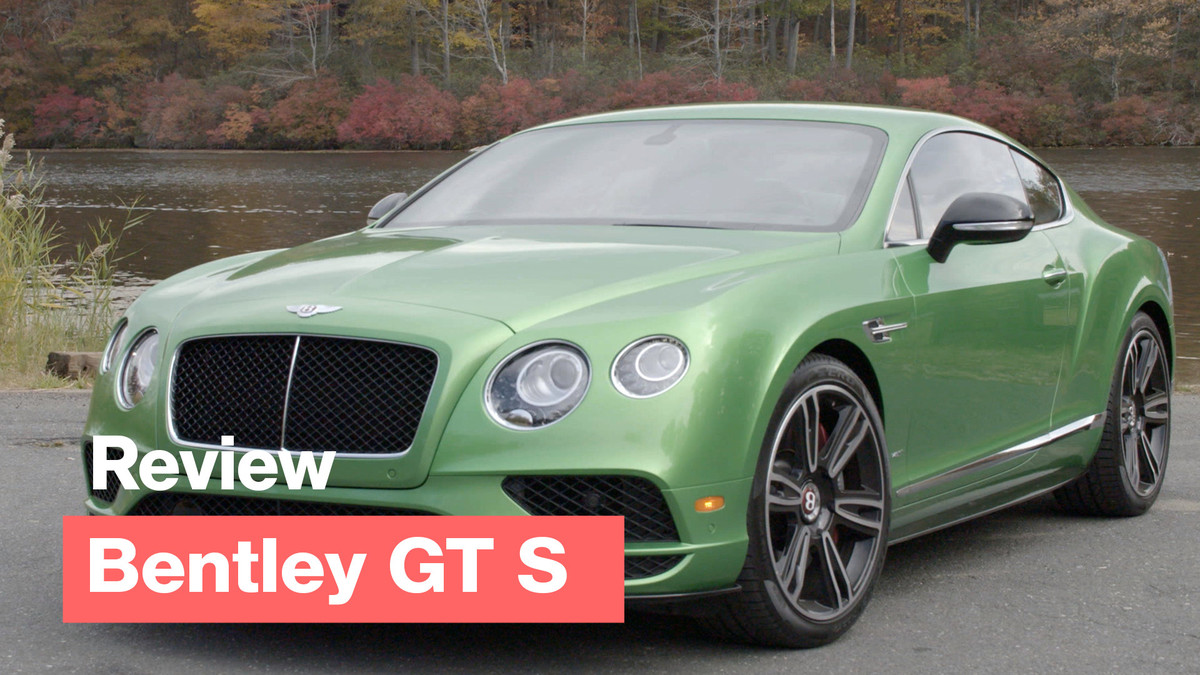 Take the new, leaner version of Bentley Continental GT S for a drive in upstate New York and test out the classic's steering and brakes. And gets a feel for its eye-popping new color.