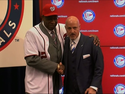 Dusty Baker Introduced as New Nationals Manager