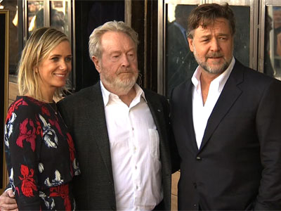Ridley Scott Dedicates Star to His Brother