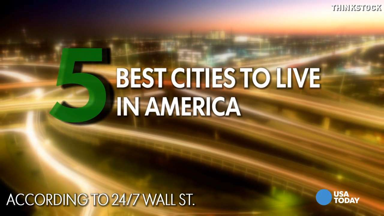 Here are the five best cities to live in the U.S., according to 24/7 Wall St. reviewed data on the 550 U.S. cities with populations of 65,000 or more as measured by the U.S, Cencus Bureau.