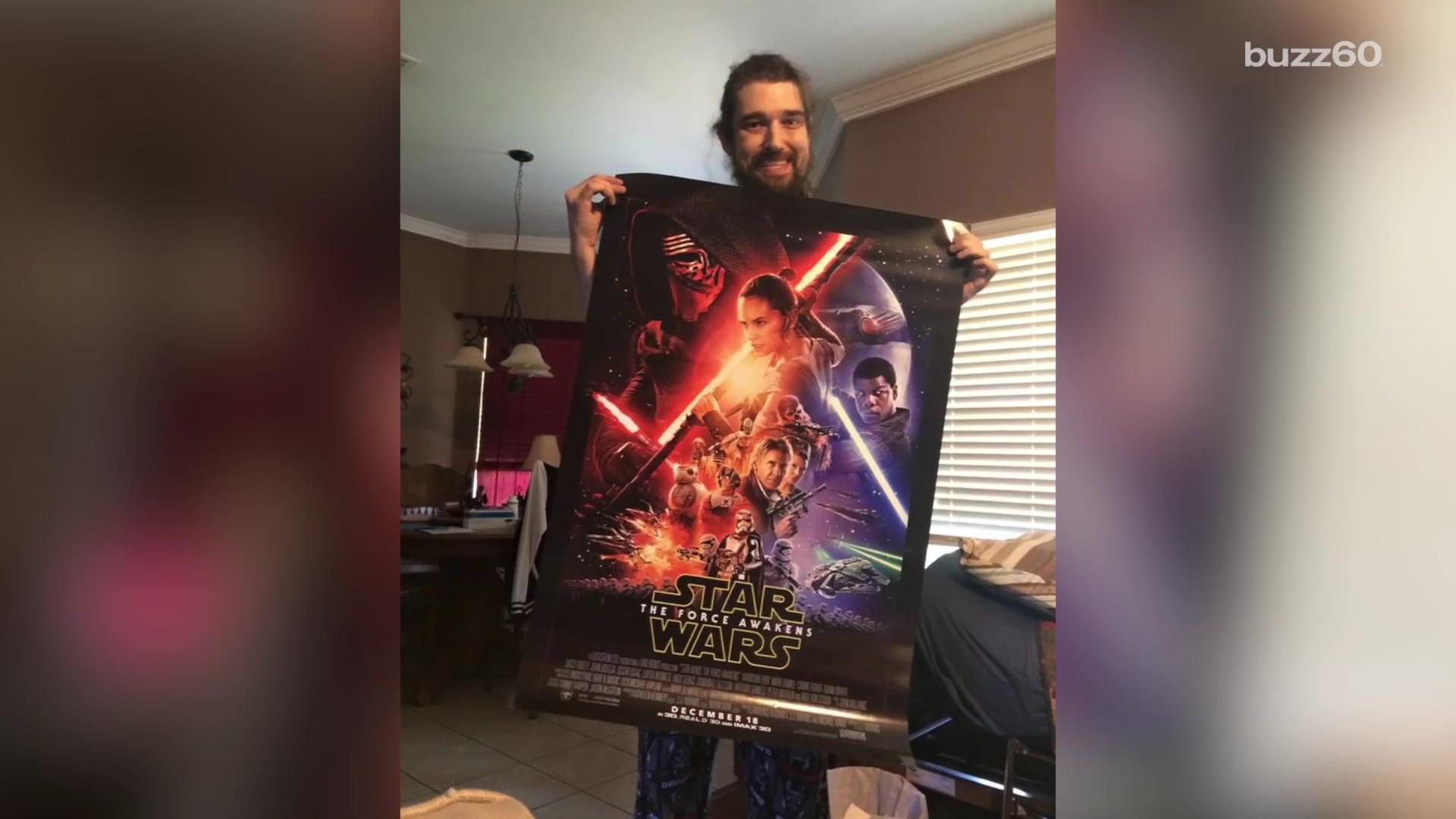 'Star Wars' director grants dying fan's wish to see 'The Force Awakens' early