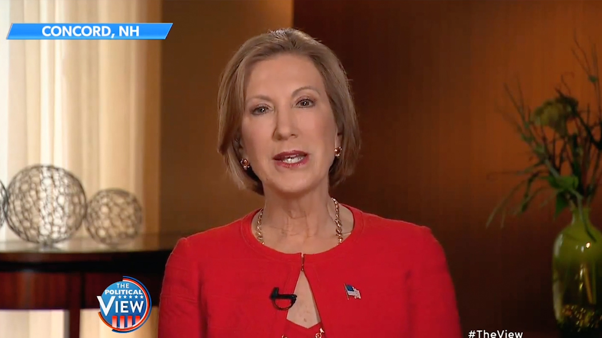 Carly Fiorina Confronts 'The View' After Hosts Said She Looked 'Demented'