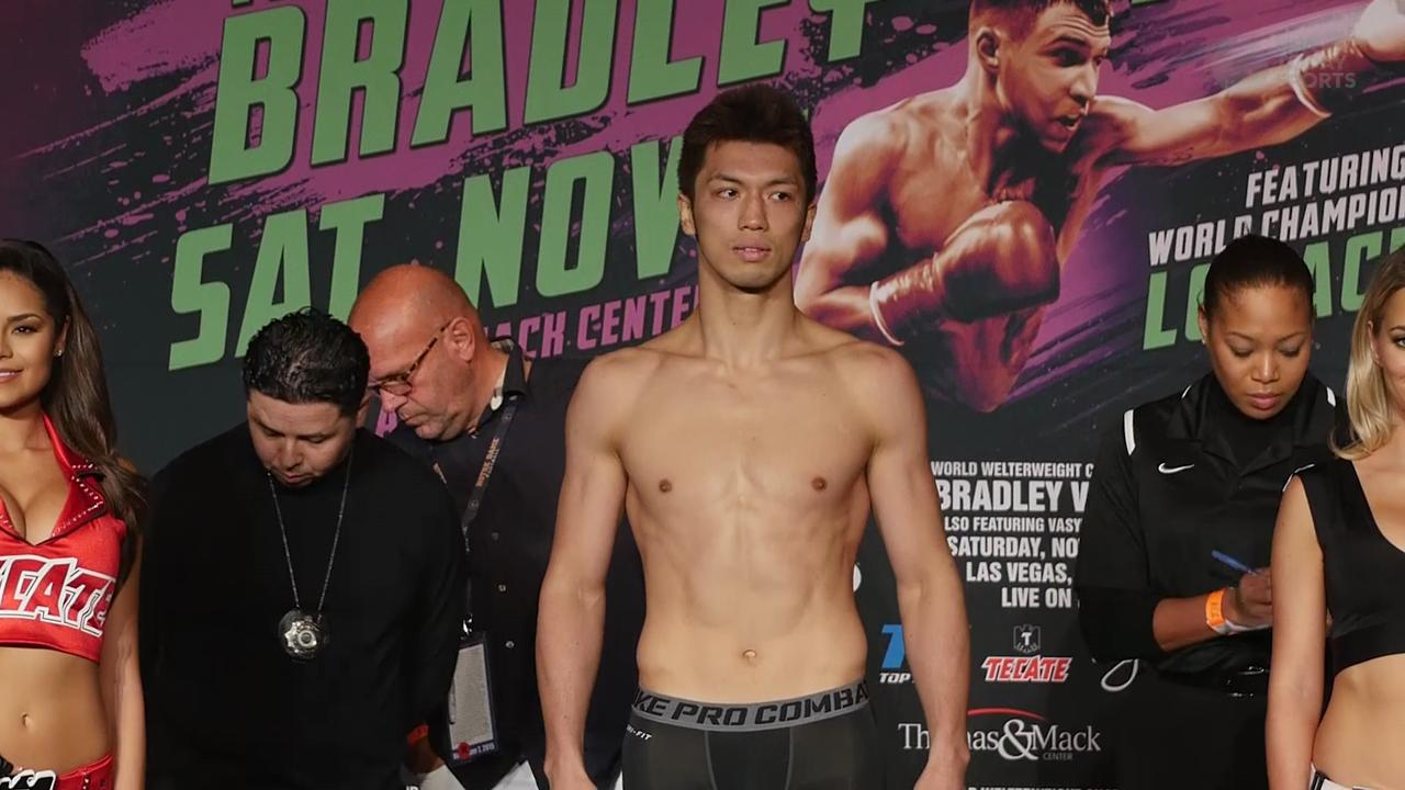 Timothy Bradley vs Brandon Rios Weigh-In Archive